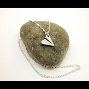 Paper Airplane Necklace by Dragon Life